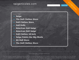 saigenicoles.com screenshot