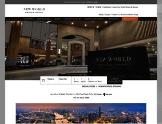 saigon.newworldhotels.com screenshot