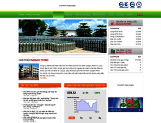 saigonpetro.com.vn screenshot