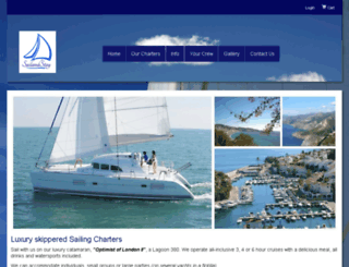 sailandstay.trekksoft.com screenshot