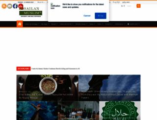 sailanmuslim.com screenshot
