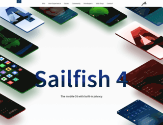 sailfishos.org screenshot