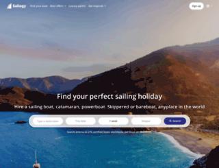 sailogy.com screenshot