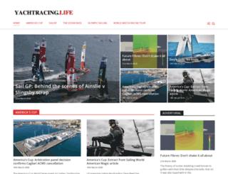 sailracingmagazine.com screenshot
