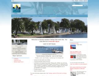 sailtoronto.org.au screenshot