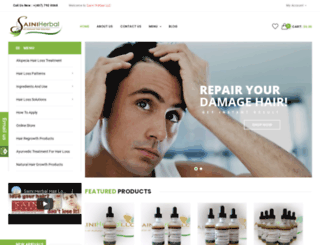 sainiherb.com screenshot