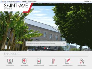 saint-ave.fr screenshot
