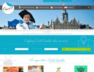 saint-quentin-tourisme.fr screenshot