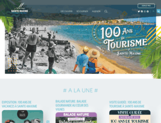 sainte-maxime.com screenshot
