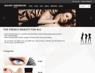 saintgermainmakeup.com screenshot