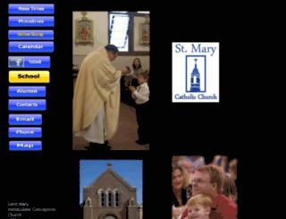 saintmary.mvn.net screenshot