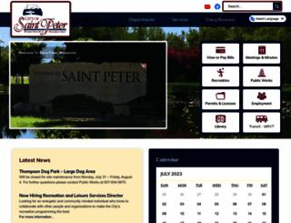 saintpetermn.gov screenshot