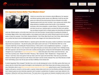 saintseiya2014.com screenshot