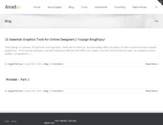 sajjadrahman.com screenshot