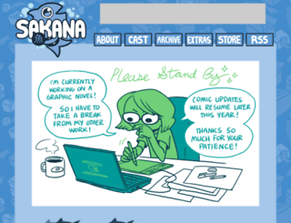 sakana-comic.com screenshot