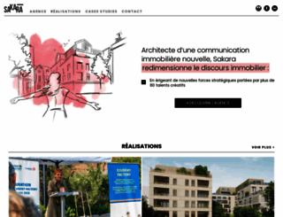 sakara.fr screenshot