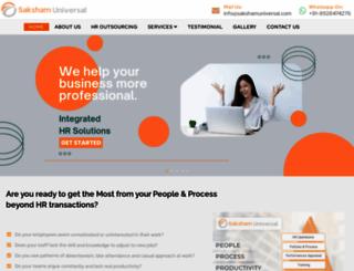 sakshamuniversal.com screenshot
