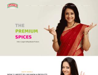 sakthimasala.com screenshot