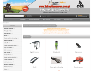 sakwyrowerowe.com.pl screenshot