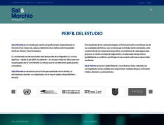 sal-morchio.com.ar screenshot