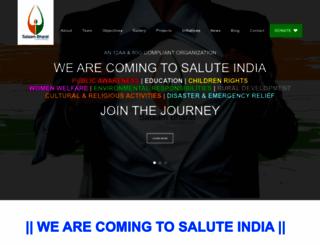 salaambharat.org screenshot