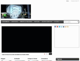saladocorretor.tv screenshot