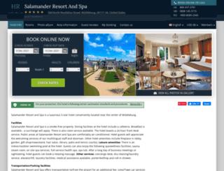 salamander-resort-spa.hotel-rn.com screenshot