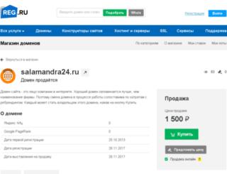 salamandra24.ru screenshot