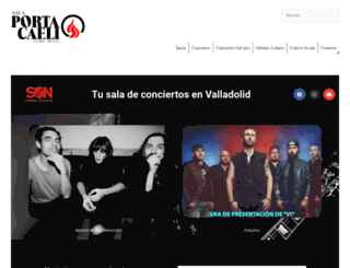 salaportacaeli.com screenshot