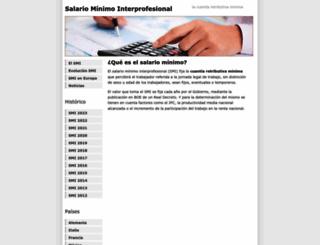 salariominimo.es screenshot