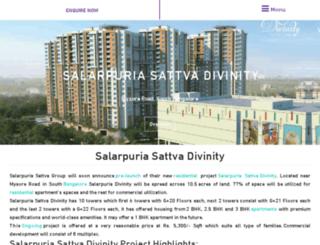 salarpuriasattvadivinity.net.in screenshot