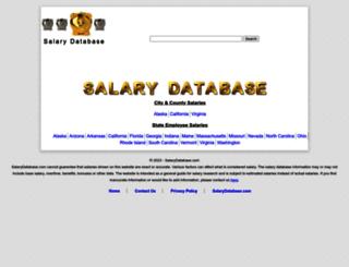 salarydatabase.com screenshot