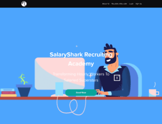 salaryshark.com screenshot