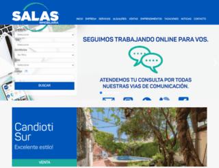 salasinmobiliaria.com.ar screenshot