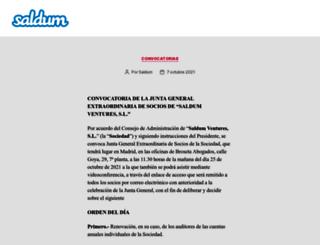 saldum.com screenshot