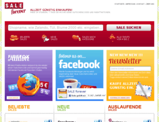 sale-forever.de screenshot