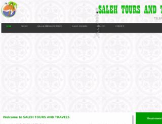 salehtoursandtravels.com screenshot