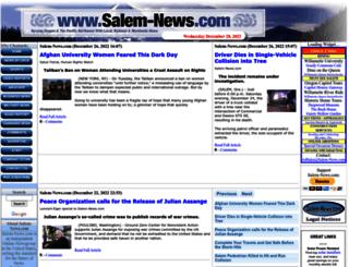 salem-news.com screenshot