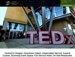 salemconventioncenter.org screenshot