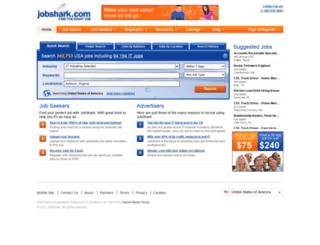 sales.jobshark.com screenshot