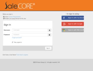 salesaspects.com screenshot