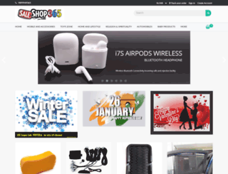 saleshop365.com screenshot