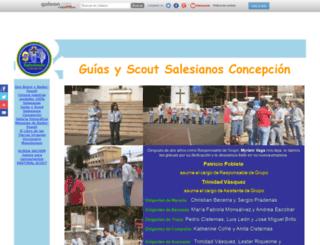 salesianoscout.galeon.com screenshot
