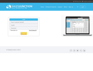 salesjunction.com screenshot
