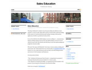 salespractice.edublogs.org screenshot