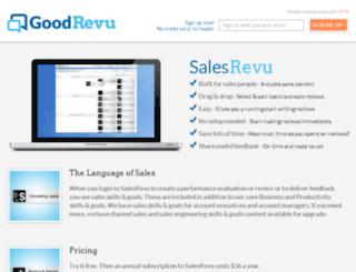 salesrevu.com screenshot