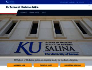 salina.kumc.edu screenshot