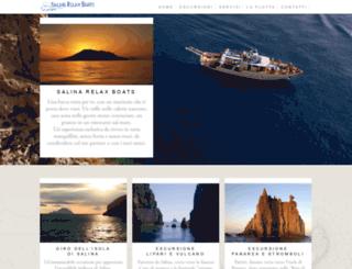 salinarelaxboats.com screenshot