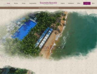 salindaresort.com screenshot