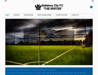 salisburycity-fc.co.uk screenshot